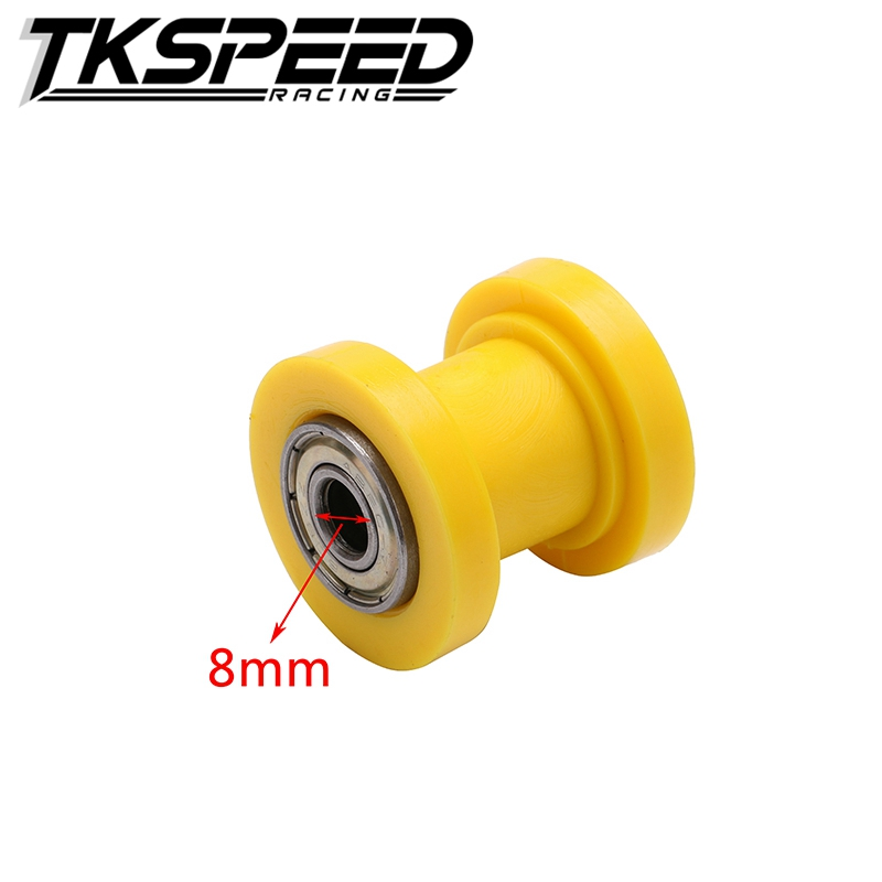 motorcycle motorbike 8mm Chain Roller Tensioner Pulley wheel guide 125 XR CRF 50 KLX110 Thumpstar Pit Pro Pit Dirt Bike